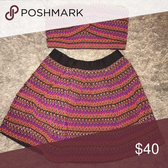 Skirt Set 🌼 Bandeau Skirt Set. Forever 21 Skirts Skirt Sets