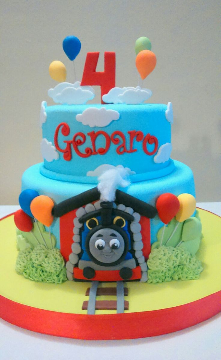 Tortas de Thomas y sus amigos