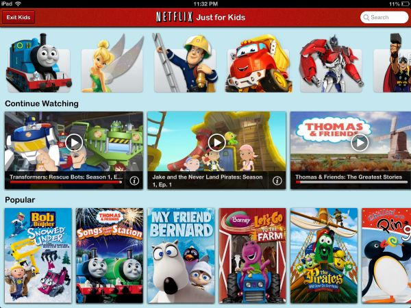 Netflix Kids On Ipad For The Kids Pinterest Netflix