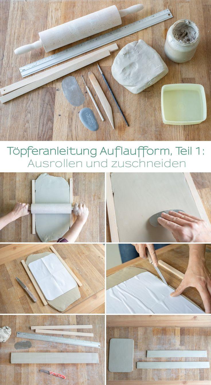 Mein Töpfertagebuch (3): Anleitung für eine Auflaufform