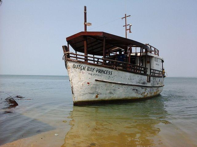 Dutch Bay princes tourist  Boat....