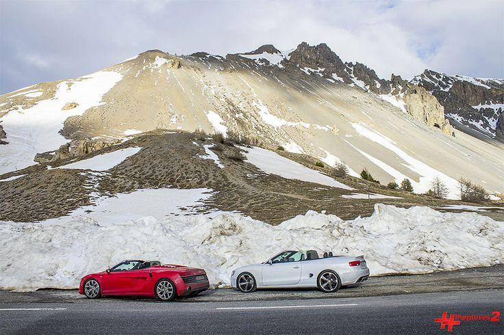 #thepluses2 Teil 3: Der Höhepunkt der Route des Grandes Alpes  #alpen #alpenpässe #audi #frankreich #pässe #rdga #reise #roadtrip #route des grandes alpes #seealpen #sportwagen #straßen #thepluses2