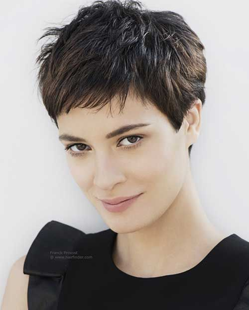 Layered Cute Short Pixie Hair 2015