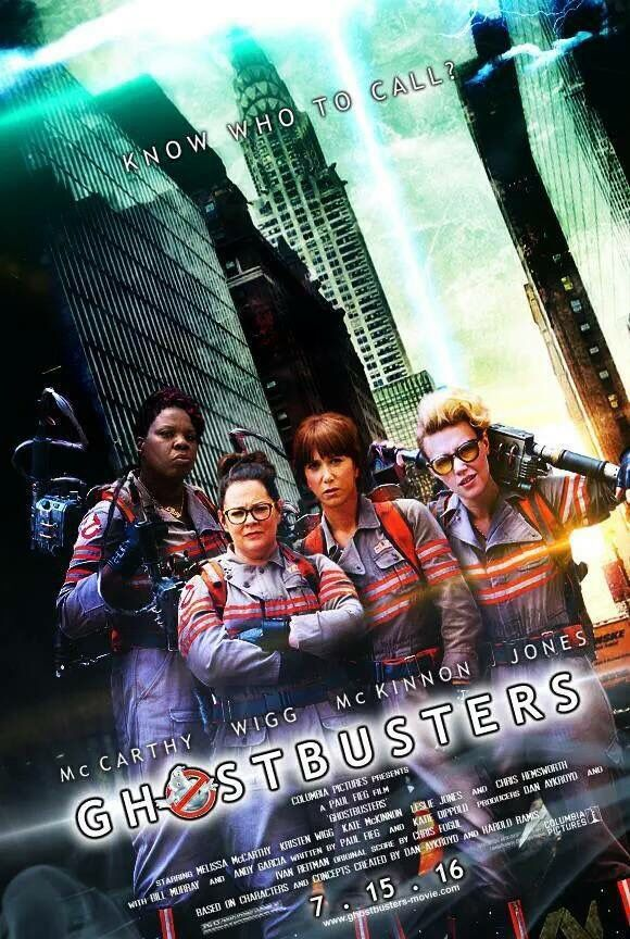 Ghostbusters Remake poster concept