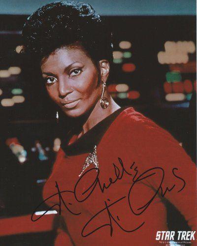 Star Trek Uhura 8x10 Photo Signed Autographed By Nichelle Nichols @ niftywarehouse.com #NiftyWarehouse #StarTrek #Trekkie #Geek #Nerd #Products