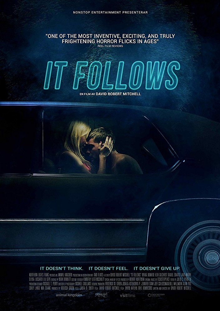 It Follows 2014 Horror Movies Horror Movie Posters Movie Covers