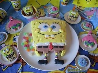 Sponge Bob party - Postreadicción