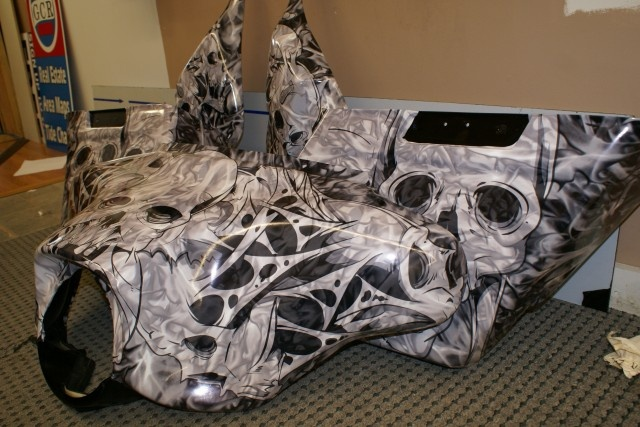 Harley Davidson Street Glide Parts Wrapped With Awesome
