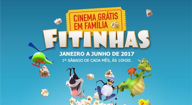 Sessões Grátis de Cinema Infantil: De Janeiro a Junho de 2017, crianças dos 3 aos 12 anos e acompanhantes não pagam bilhete nos Cinemas NOS do MAR Shopping