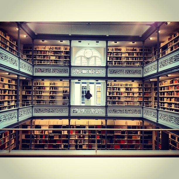 In het nooit gebruikte stadspaleis van Lodewijk Napoleon - aan het stadsbestuur geschonken toen Napoleon in Paleis t Loo ging wonen - is recent verbouwde bibliotheek van de Universiteit Utrecht gevestigd.