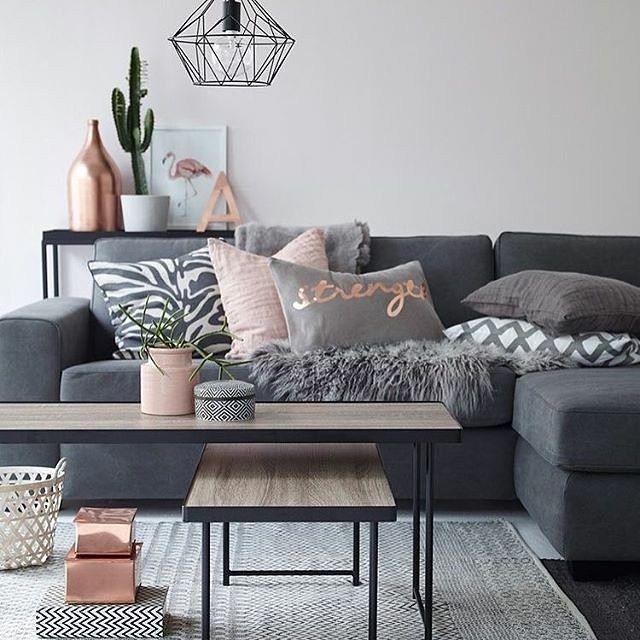 A touch of via @ellosofficial @immyandindi #inspiration #interiordesign #interior #home #homedesign #homedecor #decoration #decor #scandinaviandesign #livingroom #instahome