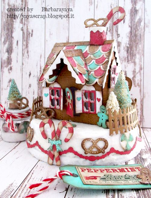 yaya scrap & more: Gingerbread Village