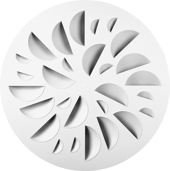 NEX also offered in circular shape for open ceilings and surface mount.