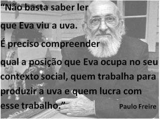 O Espiritualismo Ocidental: A quem um gênio reconhecido mundialmente, como Paulo Freire, incomoda? E por que ele incomoda?