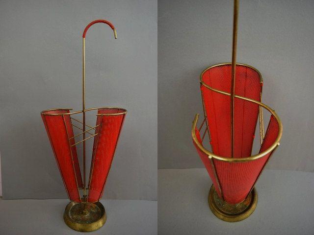 Vintage Schirmständer / Regenschirmständer | West Germany | 60er von ShabbRockRepublic auf Etsy