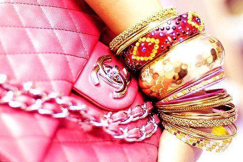 bangles bangles bangles & Chanel