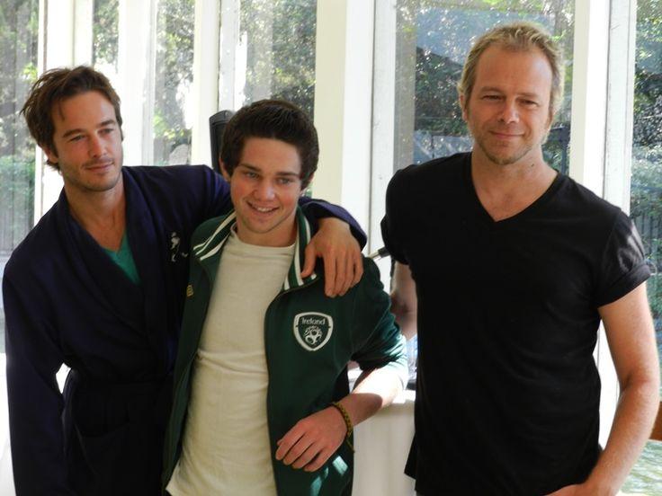 Ryan Carnes (Lucas), Jimmy Deshler (Rafe Jr) and Brian Gaskill (Rafe Sr)