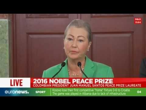 For More World News Please Click Here                 LIVE: Colombian president Juan Manuel Santos wins Nobel Peace Prize 2016