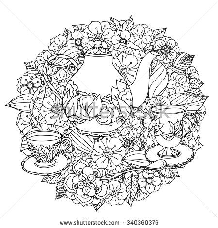 The Cupcake Colouring Book Pesquisa Google Black And
