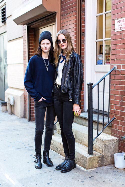 Lara Mullen And Tilda Lindstam Off Duty Street Style Inspiration