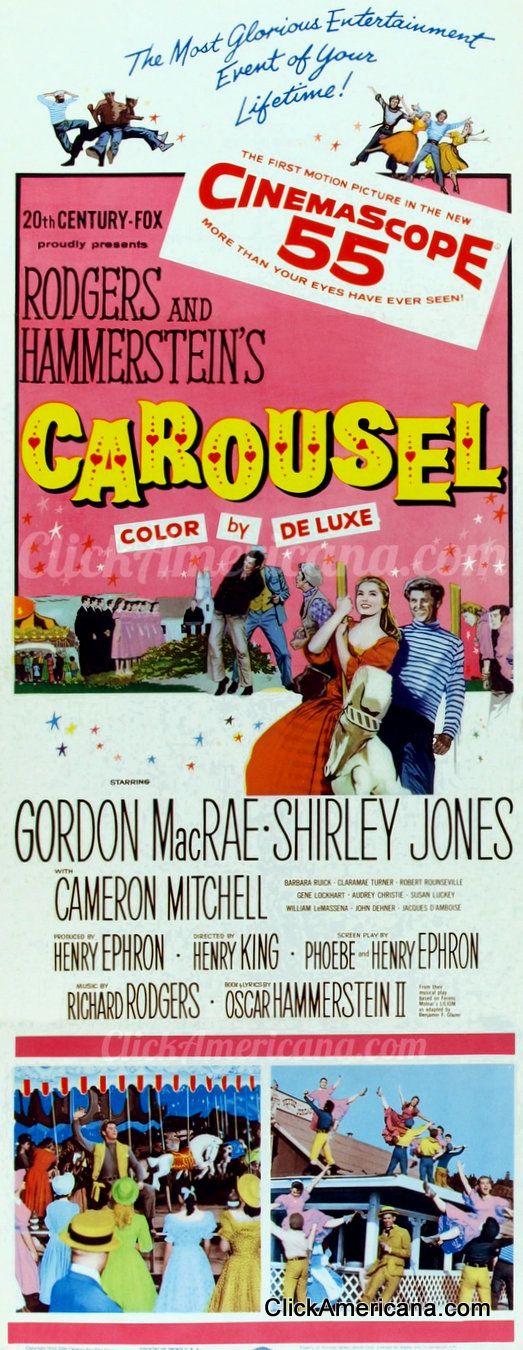 Shirley Jones & Gordon MacRae in Carousel (1956)