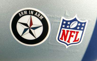 NBC's 'Pro Football Talk' Sees Cowboys Decal That Supports Dallas PD as 'Controversial'