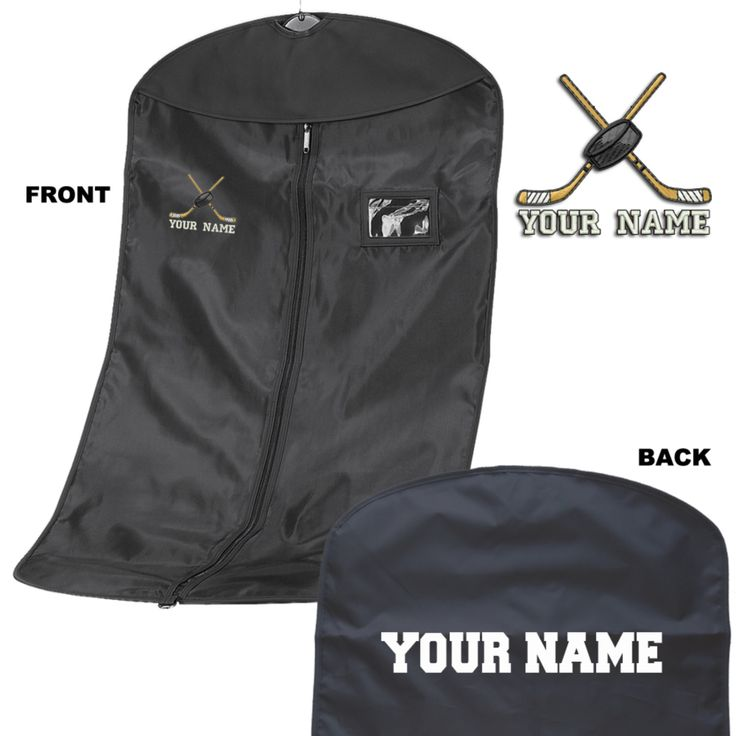 Personalised Embroidered Suit Carrier - Kit Bag - Ice Hockey Personalized Ice Hockey Suit Carrier/Kit bag by Thegiftworkshop on Etsy