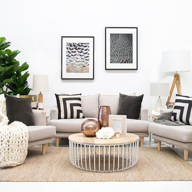 Monochrome Magic // the NEW @designerboys framed art has arrived! and we are really enjoying the feel they have created to this corner of our designer showroom. These feather pieces are $548 each...Available to order in a variety of sizes and frame designs // Call 07 5523 9825 for more information