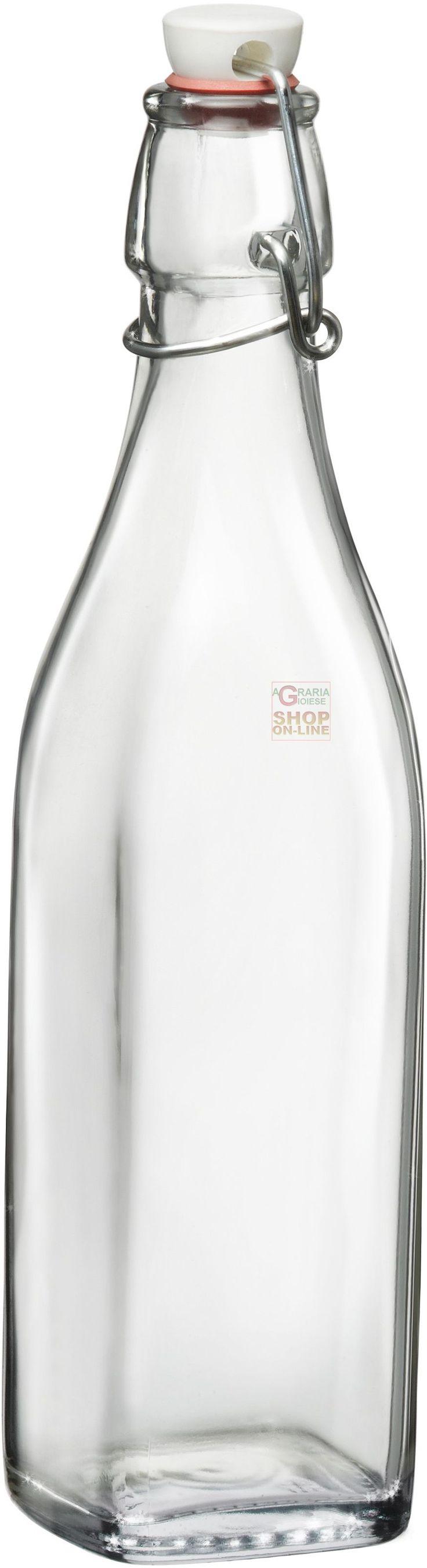 Bottiglia Bormioli Rocco Swing 250ml tappo meccanico in vetro acqua https://www.chiaradecaria.it/it/bottiglie-in-vetro/3065-bottiglia-bormioli-rocco-swing-250ml-tappo-meccanico-in-vetro-acqua-8004360051360.html