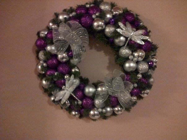 Purples and silvers, stunning!