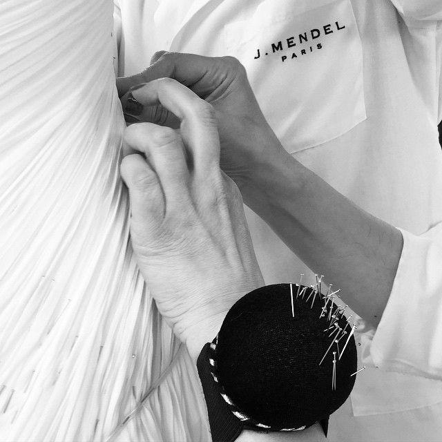 Fashion Atelier - dressmaking; fashion design behind the scenes; fashion studio // J Mendel