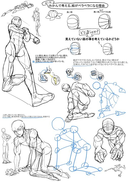 人體を描くのが苦手なやつが練習絵をアップするスレ  スマホ版萌えイラストを描きたい!!   イラスト ...