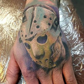 Friday the 13th | Community Post: 37 Incredible Horror Movie Tattoos That'll Give You Nightmares