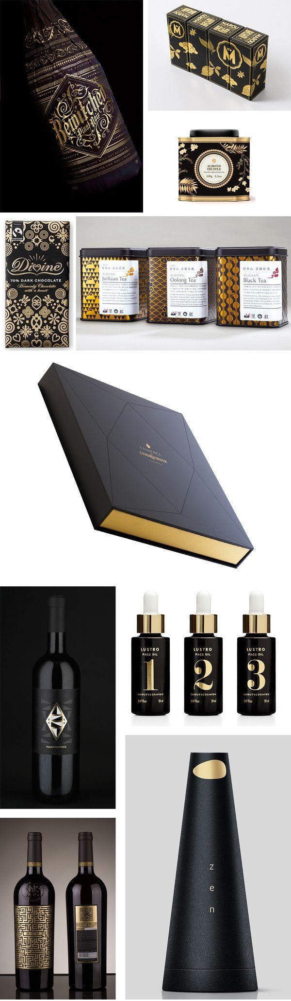 Förpackad Blogg om Förpackningsdesign, Förpackningar, Grafisk Design » Tema: Gyllene Svärta CAP&Design Nordens största tidning f� in Packaging