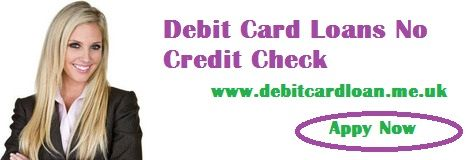 If you suffer from poor credit score and require a urgent cash, lenders offer easy cash assistance through debit card loans no credit check. Loans approval is quick and simple because of ver less documentation and no requirement of collateral.