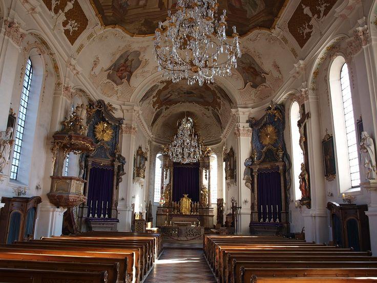 Pfarrkirche Mariä Himmelfahrt - Prien am Chiemsee, Bayern / Bavaria