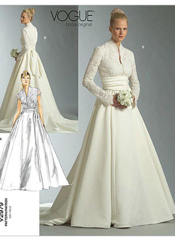 Best 25  Vogue wedding dress patterns ideas on Pinterest | Vintage ...