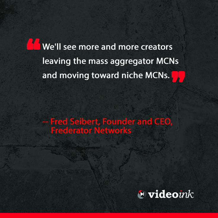 Seems like this is starting to happen, with the announcement of YouTube creators signing to MCN's. http://www.thevideoink.com/features/special-issue/2015-predictions-industry/#.VMZ5YMakSfY #quotes #youtube #creators