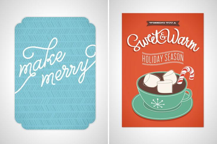 Our 10 Favorite Ways to Customize Holiday Cards Online via Brit + Co