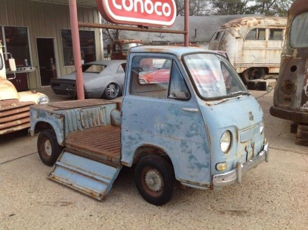 Rare Drop-Side Pick-Up: 1960 Subaru 360 Project | Bring a Trailer