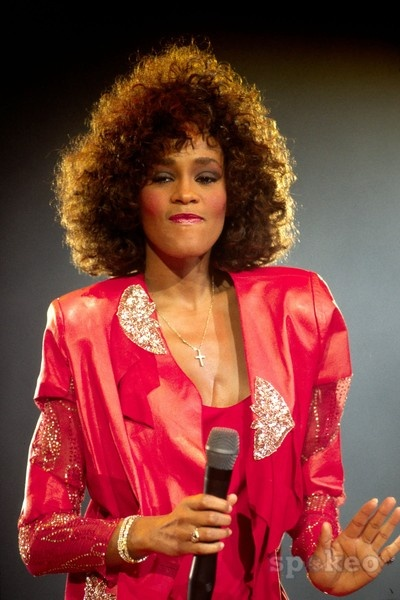 Whitney Houston ... so emotional