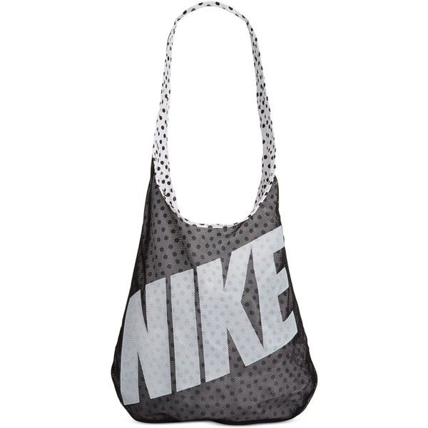 Nike Graphic-Print Tote Bag found on Polyvore