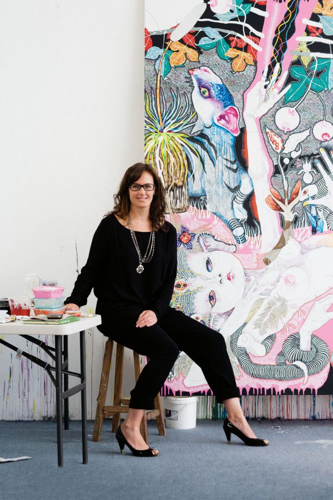 Dual Archibald Prize-winning artist Del Kathryn Barton shares her 10 favourite things.