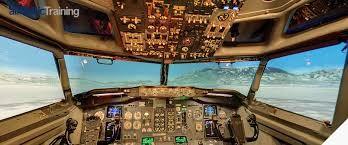 Bombardier Q400 , virtual visit Air Baltic