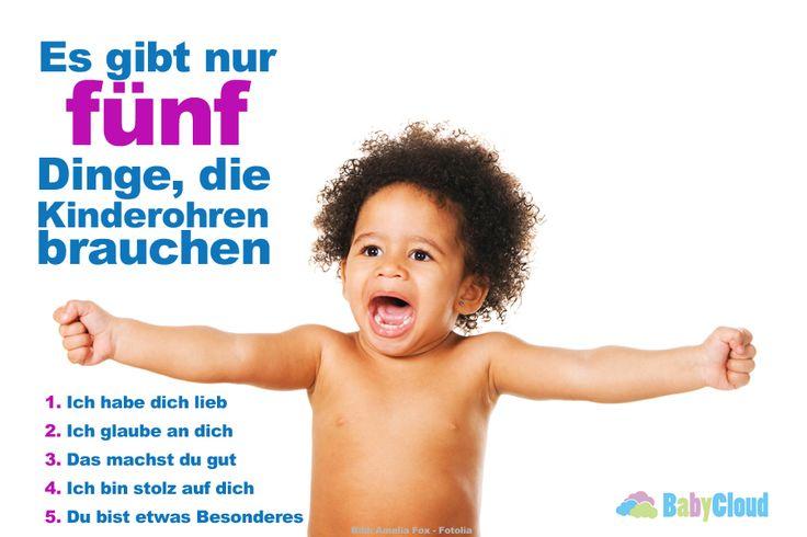 Es gibt nur 5 Dinge die Kinder hören müssen! #familie #kinder #rund ums Kind #mutte #mama #erziehung #meinekinder #mein sohn #meine tochter