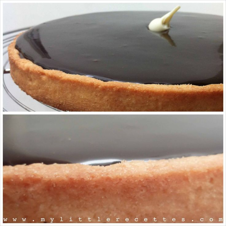 Tarte au chocolat et glaçage miroir: Alimento Ideas, Chocolate, The, Pie