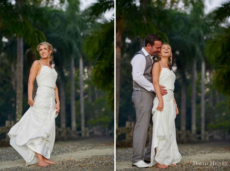 Bride and Groom wedding photos at Down Converys Lane