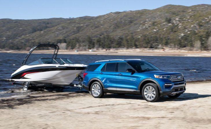 2020 Ford Explorer Fresh Redesign For New Age Of Explorer En 2020 Avec Images