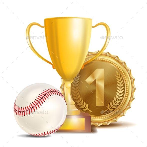 Baseball Award Vector Baseball Award Sport Banner Baseball Banner