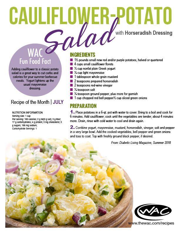 Potato Salad With Yogurt Calories